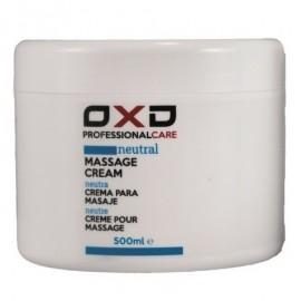 Crema de masaje OXD neutra profesional 500gr