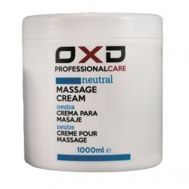 Crema de masaje OXD neutra profesional 1000gr