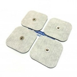 Electrodos adhesivos de conexión Snap 5X5 cm (LACA-PPBC)