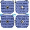 Electrodos adhesivos DURA-STICK Snap 5X5 cm (FI-2560)