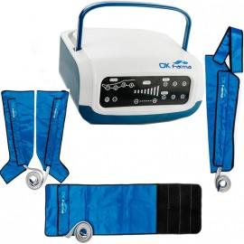 Presoterapia Farma Press Digital, cuatro cámaras + 2 fundas de piernas + funda de brazo + faja (FI-PF1201087B)