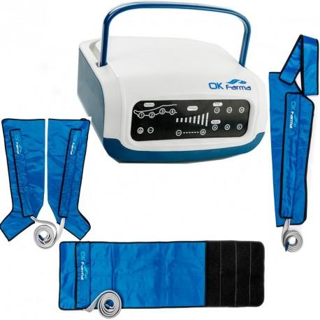 Presoterapia Farma Press Digital, cuatro cámaras + 2 fundas de piernas + funda de brazo (FI-PF1201087B)
