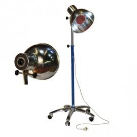 Lámpara de infrarrojos con peana de 5 ruedas con temporizador