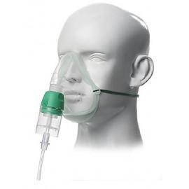 Mascarilla con nebulizador, adulto o pediátrico