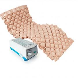 Colchón antiescaras de celdas con alternancias y compresor