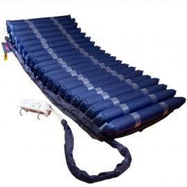 Colchón antiescaras con alternancias de TUBOS y compresor para grados I, II, III y IV