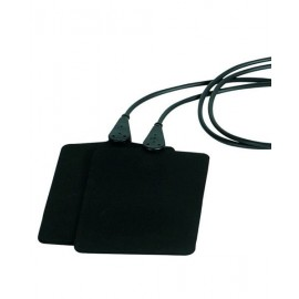 Electrodo de caucho para equipos gymna 6x8cm