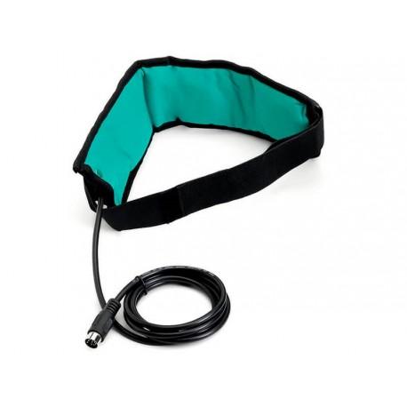 Faja elástica terapéutica + cable de 3 solenoides para magnetoterapia I-Tech
