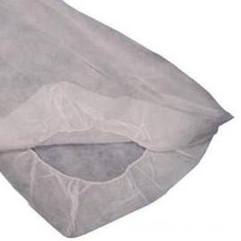 Sabanilla Blanca Ajustable de polipropileno(10ud) SMS 14gr. 80 cm x 210 cm