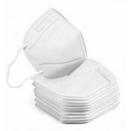 10ud mascarillas FFP2 color blanco(envasado individual)