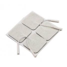 Electrodos adhesivos KNF cable 50X50 mm (CWN2505)