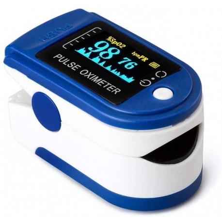 Pulsioximetro con onda pletismográfica CMS50D