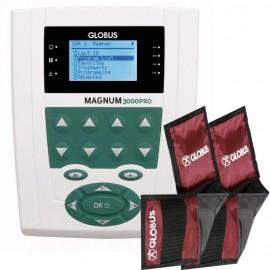 Magnetoterapia GLOBUS Magnum PRO 3000 con 70 programas y 2 canales