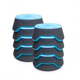 Blazepod, sistema de entrenamiento de reflejos profesional, 8 unidades + bolsa + base de carga