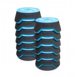 Blazepod, sistema de entrenamiento de reflejos profesional, 12 unidades + bolsa + base de carga
