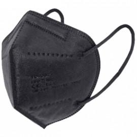 10ud mascarillas FFP2 color negro (envasado individual)