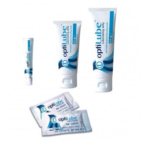 Optilube, gel lubricante estéril, varias medidas a elegir.