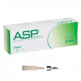 Chincheta de auriculoterapia de acero ASP + aplicador,8 unidade