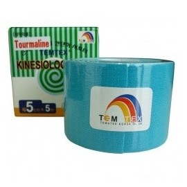 TEMTEX con Tourmaline Kinesiology Tape 5cm x 5m