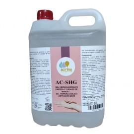 Garrafa Gel de manos hidroalcóholico ACRIMA  sanitario, 5 LITROS