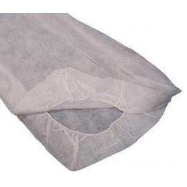 Sabanilla Blanca Ajustable de polipropileno SMS 20gr. 80 cm x 210 cm (10 o 100 unidades) (UNI-10/22/060)