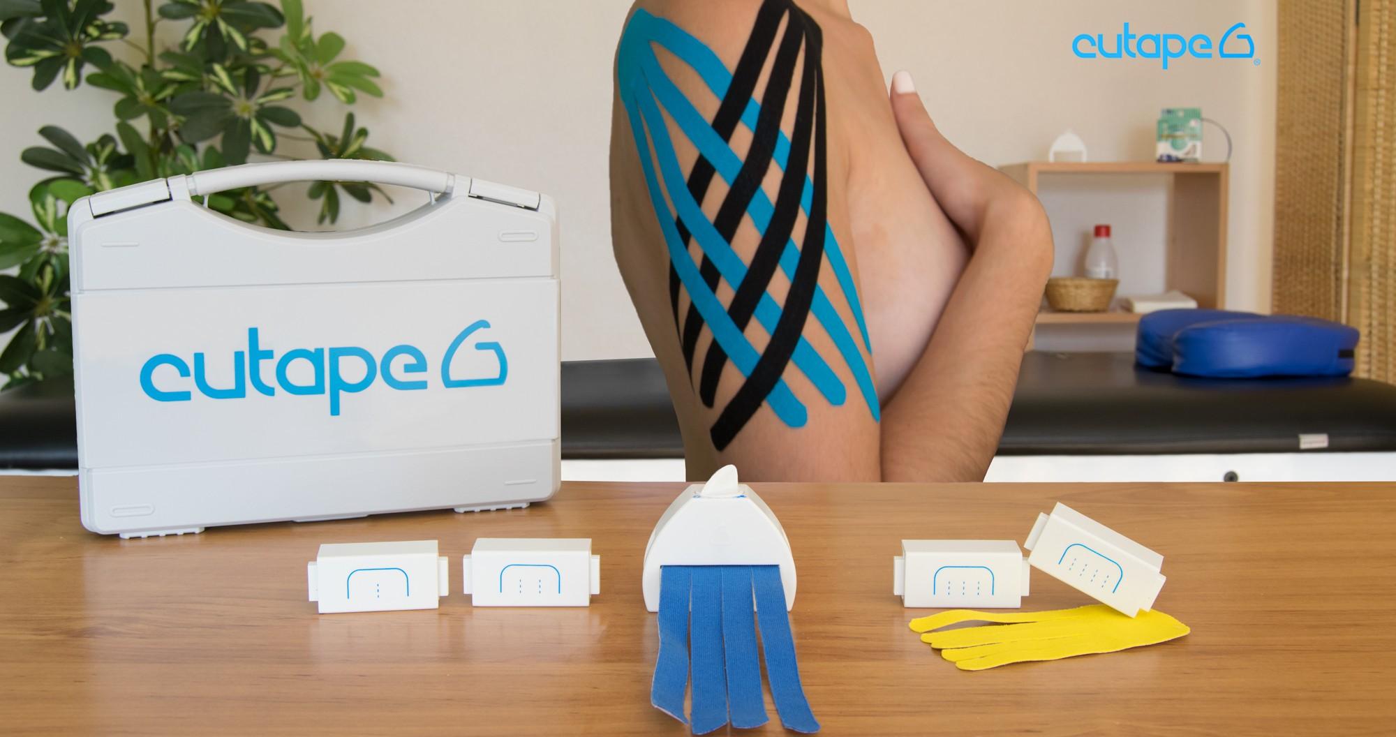 Cutape, cortador de kinesios de forma rápida y sencilla
